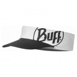 Buff Pack Run Visor R-Solid White