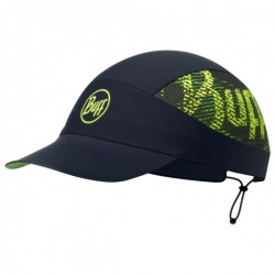 Buff Pack Run Cap R-FLASH LOGO BLACK