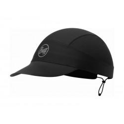 Buff Pack Run Cap R-SOLID BLACK