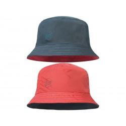 Klobuk Buff COLLAGE RED- BLACK